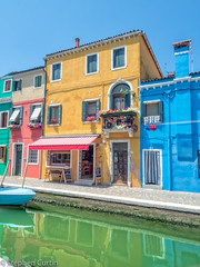 Burano Canal (stephencurtin) Tags: houses italy architecture colorful burano