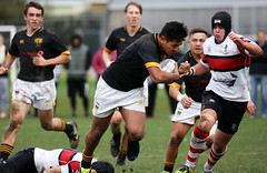 Wellington College vs Scots (whitebear100) Tags: newzealand rugby nz wellington northisland wellingtoncollege rugbyunion scotscollege theweltecpremiership