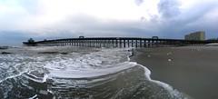 Folly Beach Pier (jan_bo) Tags: ocean beach pier sand southcarolina follybeach atlanticocean follybeachpier