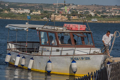 DSC_5878 (Pasquesius) Tags: sea ferry island boat barca mare lagoon sicily laguna saline sicilia saltponds isola traghetto marsala mozia mothia stagnone motya riservanaturaledellostagnone