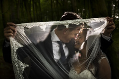 Wedding (siebe ) Tags: wedding light holland netherlands dutch dark groom bride couple veil nederland marriage lovers weddingday trouwen bruiloft trouwdag 2016 weddingphotography bruidspaar sluier bruid bruidsreportage trouwreportage bruidsfotografie