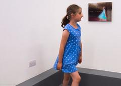 Life imitating art (cjcrosland) Tags: london exhibition pv privateview theovervieweffect lewishamarthouse katyakvasova