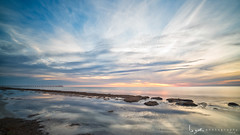 2016 - Landscape - Sunset - Largs - 03_22_01.jpg (stevenlazar) Tags: ocean sunset beach clouds waves jetty australia adelaide southaustralia largs 2016