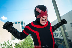 PS_81398 (Patcave) Tags: heroes con heroescon heroescon2016 2016 convention cosplay costumes cosplayers marvel portrait shoot shot canon 1740mm f4 lens patcave 5d3 northcarolina north carolina charlotte center indoors air conditioning cyclops xmen mutant scott summers