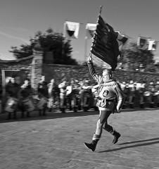 Standard bearer (hbothmann) Tags: monteriggioni toskana tuscany toscana   mittelalter medieval middleages mittelalterfestival medievalfestival    festival   monteriggioniditorrisicorona2016 monteriggioniditorrisicorona