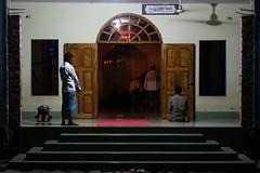 Village mosque (I.M.W.) Tags: bangladesh srimangol sylhet mosque masjid night pray prayer prayers entrance door window steps