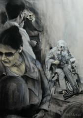 DSC_6930+web (jiri.metod) Tags: mixedmedia conte charcoal chalk acryl drawing lifedrawing