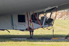 Airlander 10 crash, Bedfordshire (Ken Barley) Tags: airlander airlander10 airship bedfordshire cardington crash engineer hav hav304 hybridairvehicles