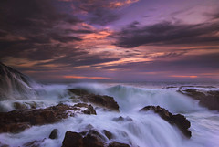 prestorm (Andy Kennelly) Tags: palos verdes california storm waves beach rocks wet seascape