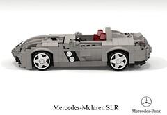 Mercedes-Mclaren SLR Stirling Moss Edition (lego911) Tags: mercedes mercedesbenz benz mclaren slr stirling moss edition roadster v8 supercharged supercharger racer auto car moc model miniland lego lego911 ldd render cad povray lugnuts challenge 106 exclusiveedition exclusive limited special germany german carbon fibre fiber sports sportscar