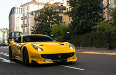 F12 Tour de France (David Clemente Photography) Tags: ferrari ferrarif12 ferrarif12tdf tdf tourdefrance f12berlinetta f12 f12tdf cars supercars hypercars giallotristrato carspotting ferrarif12berlinetta