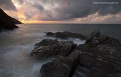 Ilfracombe Sundown, North Devon (Daryl 1988) Tags: ilfracombe northdevon devon coast southwestcoastpath coastpath sunset sun sundown rocks sky clouds wow nikon england d2xs longexposure tide horizon colour uk landscape seascape waterscape