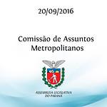 Comiss�o de Assuntos Metropolitanos 20/09/2016