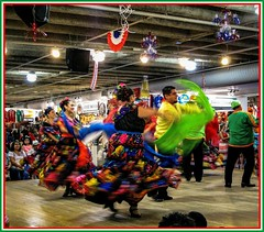 Culture in Motion 3 (photo.po) Tags: tx marketsquare perfomers dancing culture mexicanculture people celebration tourist