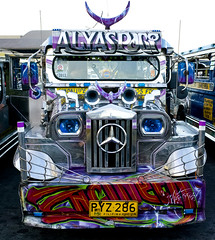 Jeepney (29) (momentspause) Tags: ricohgr ricoh jeepney manila philippines vehicle travel chrome shiny custom