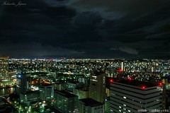 Night  (IJDGAF7902) Tags: night skyline sky landscapes light city cityview cityscape street long exposed exposure outdoor urban japan fukuoka building architecture world wallpaper beautiful beauty roadtrip travel trip downtown cloud view scenery viewpoint holiday vacation midnight           asia