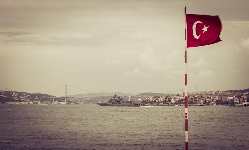 Turcja, Stambuł -- nad Bosforem