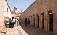 """Isolation cells at """"Number Four"""", the Old Fort Prison Complex on Constitution Hill, Johannesburg (amanda & allan) Tags: southafrica johannesburg joburg jozi constitutionhill fort prison mandela ghandi sectionfour sectionfive isolation cell cells numberfour"""
