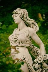 Statue (Michael Eickelmann) Tags: maid girl mdchen portrait stone stein bad rothenfelde panasonic lumix fz 200 september photo foto