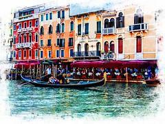 Venecia, Venice 002 (www.ignaciolinares.com) Tags: venecia venice venezia gondola canales sanmarcos feniche campanile ilduomo eldoge vaporetto veneto italia