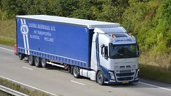 71-BGL-9 (panmanstan) Tags: volvo fh wagon truck lorry commercial freight transport curtainsider haulage vehicle hgv international holland a180 meltonross lincolnshire