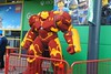 legoland windsor 058 (richard-am) Tags: legolandwindsor lego windsor legoland 2016 nikond300 ironman hulkbuster sculpture marvel