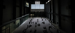 See the little people play (Mr.MinuteMan) Tags: abstract art modernart tatemodern turbinehall southwark bankside london interior sonya6300 zeisslens zeisstouit12mm touit2812 e architecture carlzeiss