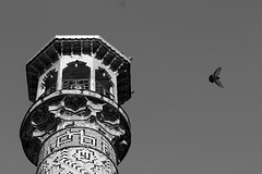 Tehran Bazar, Shah Mosque, Campanile بازار تهران،منار مسجد شاه (Parisa Yazdanjoo) Tags: campanile shahmosque tehranbazar بازارتهران منارمسجدشاه