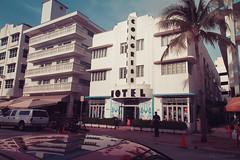Art Deco Hotels along Ocean Drive in Miami Beach (julesnene) Tags: travel building beach architecture hotel florida miami landmark structure destination artdeco miamibeach iconic sou