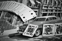 Two of spades - The king dumped B&W (Stievesox) Tags: bw stilllife white black jack cards blackwhite king heart queen re regina 18200 spades fante dumped duedipicche twoofspades cartedagioco fotonikon3100