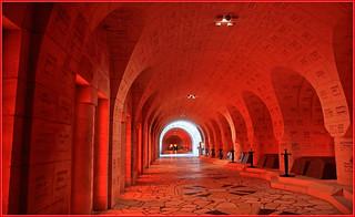 Ossuaire de Douaumont, The Douaumont ossuary, Meuse, Lorraine, France