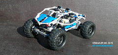 No. (x+1) (Horcik Designs) Tags: blue classic speed truck lego offroad space technic formula cs buggy trial crawler offroader