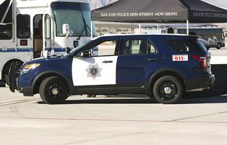 San Jose PD Ford SUV