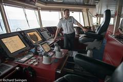 Fram Captain (RASwingen) Tags: iceland fram shipsbridge