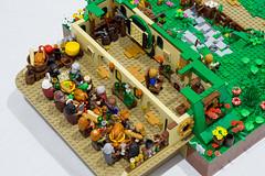 mod lego lotr gandalf underhill lordoftherings hobbit frodo bilbo moc bagend battleoffivearmies unexpectedgathering