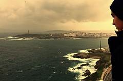 Viendo la Corua desde las alturas (pauli.lazo) Tags: photo galicia iphone lacorua oropel beatifulcapture