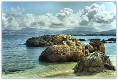 "Bonagia  ""Trapani "" (Schano) Tags: panorama landscape mediterraneo italia nuvole mare sony hdr sicilia paesaggio trapani scogli bonagia siicilia sonyilce3000"