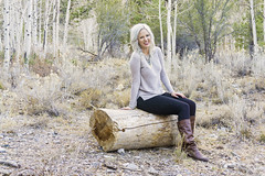 logs (Ben Garcia Photography) Tags: wood vegas winter white mountain fall girl fashion forest woods library nevada graduation mount charleston blonde unlv