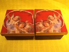 Caixa em MDF com decoupage. (Feliciana Presentes! Por Aline Antunes) Tags: natal mdf decoupage presentedenatal