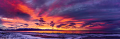 Caffeinated Morning (Traylor Photography) Tags: morning winter snow alaska clouds sunrise nikon cloudy cook panoramic anchorage inlet tamron bayshore bluff d810 1024mm