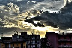 Another wonderful sky (MahTagliaferri) Tags: city blue sky black azul italia cu preto cielo azzurro nero paesaggio