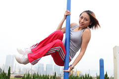 Strength workout (Wondergraphy) Tags: portrait sport hongkong exercise lifestyle  sporty   healthylifestyle  sportygirl malaysiaphotographer lifestylephotographer wonderfulphotography  cklim   wondergraphy