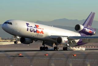 N587FE | FedEx | MD-11F | KLAS