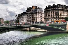 Crossing The Seine (Professor Bop) Tags: bridge summer seine river mosca parisfrance drjazz professorbop olympusxz1