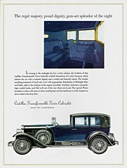 1928 Cadillac Transformable Town Cabriolet, Body by Fleetwood (aldenjewell) Tags: town body cadillac brochure 1928 fleetwood cabriolet transformable
