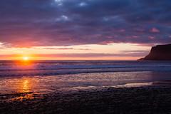 Breiavik Sunset-54 (twentyonecuts) Tags: travel sunset sky beach nature water beautiful clouds wonderful outside iceland amazing europe dusk midnight sunrisesunset magichour midnightsun