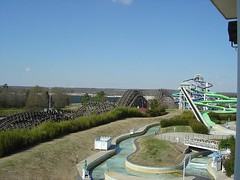 1bb5 (thewestate) Tags: road bay gun top flyers thunder boomerang carowinds paramount afterburn