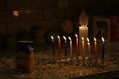 Eighth Night of Chanukah (skron) Tags: holiday lights candles chanukah hanukah eight