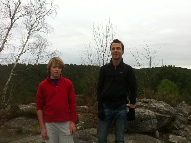 Nico & Baptiste au Monument Pélican