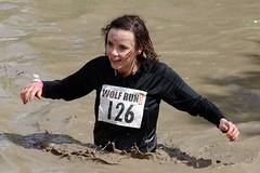Saturday April 26th 2014. (David James Clelford Photography) Tags: 10k warwickshire dirtygirl 10km wolfrun royalleamingtonspa femaleathletes wetgirl dirtylady wetlady